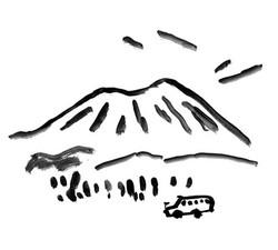 山のおみやげ