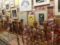 こけし時代展 カメイ美術館(仙台)2014年 『こけし・せんちめんたる』原画を展示