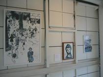 イラストレーター大橋美由紀との二人展 吉野純粋蜂蜜店画廊 2005年