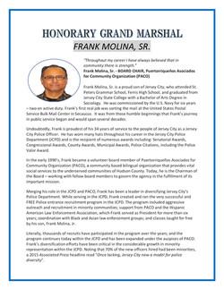 frank's bio