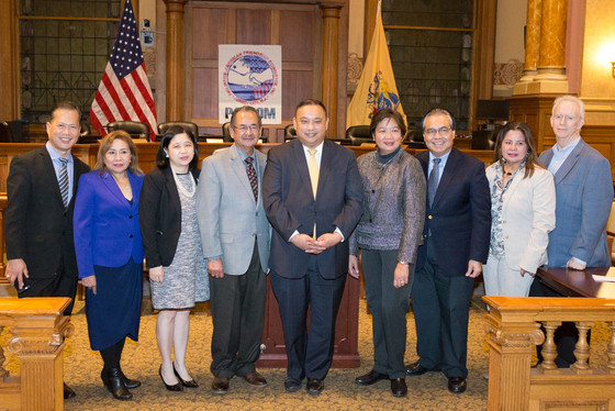 PAFCOM WELCOMES 2018 PRESIDENT LITO PERNIA,  COUNCIL PRESIDENT LAVARRO AS GRAND MARSHAL