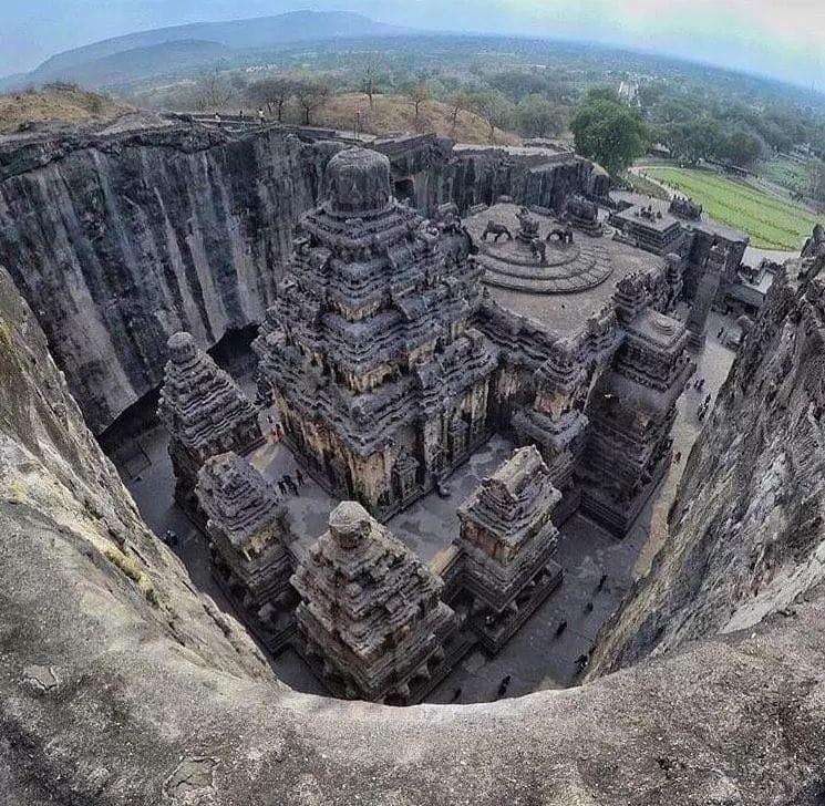 Храм Кайласанатха, Эллора, Индия.