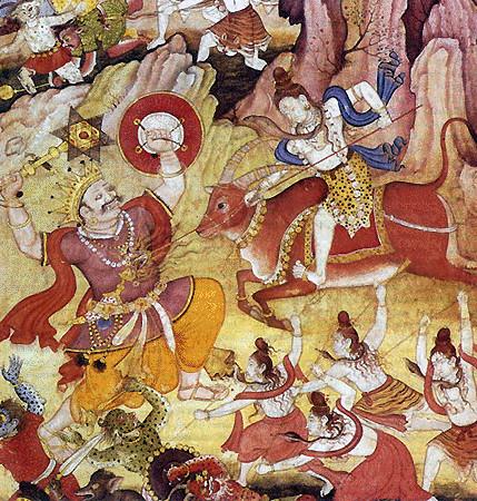 Битва Шивы с Андхакой