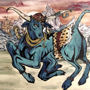 VṚṢEŚA: ŚIVA'S BULL INCARNATION OR WHY IS THE ENTRANCE TO PĀTĀLA CLOSED?
