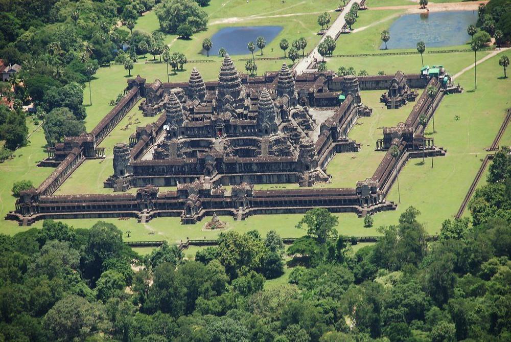 Храм Ангкор-Ват, Камбоджа.