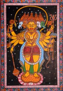 Пятиликий (панчамукха) Хануман