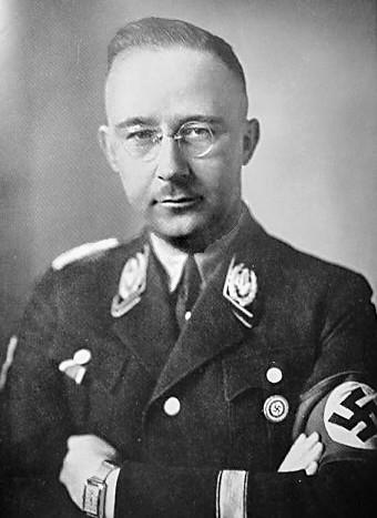 Генрих Гиммлер, рейхсфюрер СС.