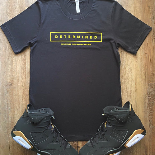 Determined Blk and yellow edition