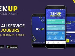 Réservez votre court sur Ten'Up !