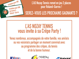 La chandeleur du tennis 26/02