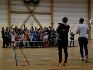 """Les photos de la """"Journée Tennis pour tous"""" sont arrivées !"""