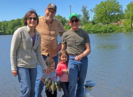 Past, Present Fishing Trips Inspire Lifelong Souvenirs