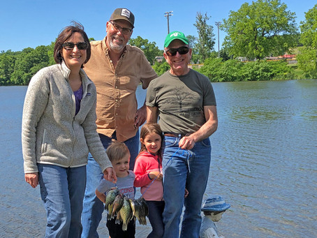 Past, Present Fishing Trips Inspire Lifelong Souvenirs