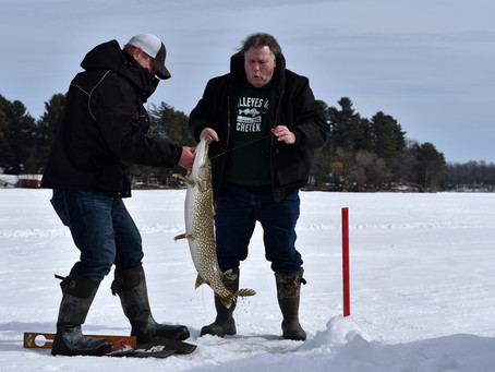 Lake Chetek Surrenders a Big Late-Season Northern Pike
