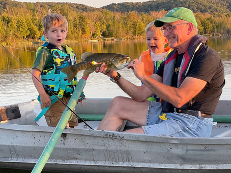 Grandsons Land Bass After Lowering Their Guard