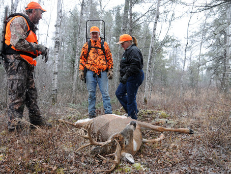 As in Wisconsin, Swedes Discover New Urban Hunters Challenge Tradition