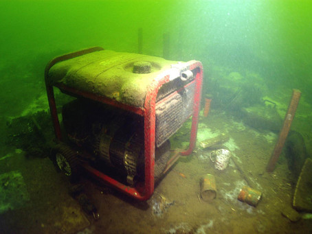 Divers Unravel Lines, Mysteries Among Lost Fishing Gear