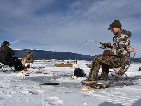 No Joke: Ice-Fish New Mexico for Jumbo Perch