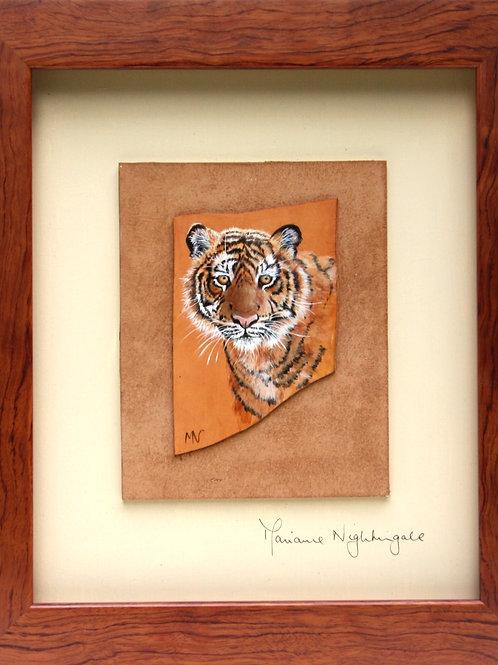 Miniature Tiger Head Study