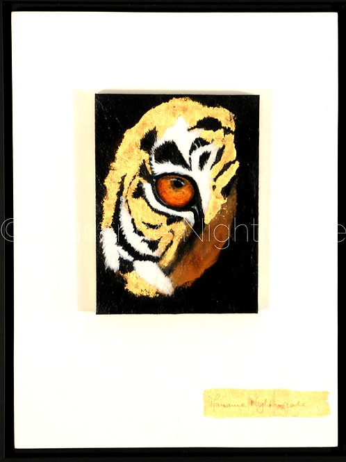 Tiger Eye and Leopard Eye (PAIR)