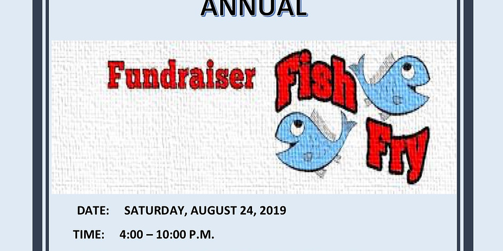 Annual Fundraiser Fish Fry