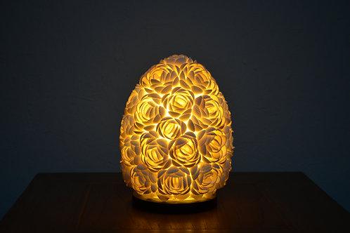 Lámpara de Conchitas Ovalada