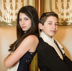 Becca and Jacobs B'nai Mitzvah