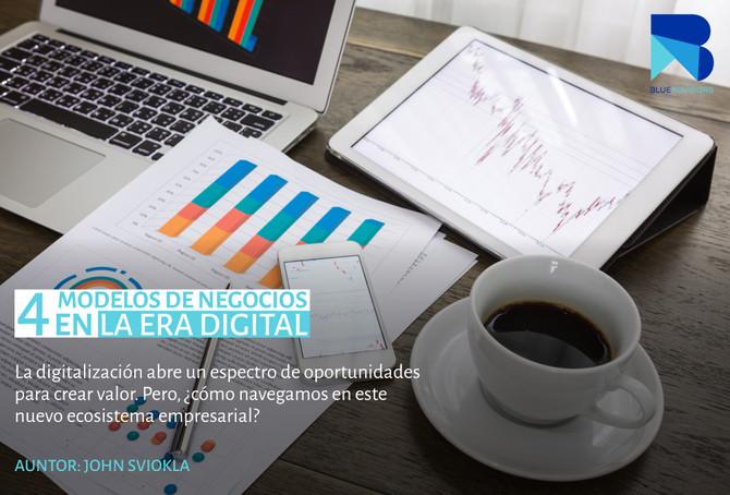 Cuatro modelos de negocio en la era digital