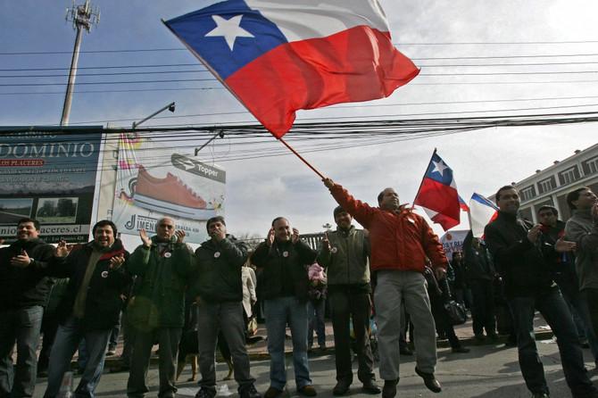 El 65% de los chilenos está satisfecho laboralmente
