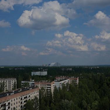 Pripyat Apartment Roof