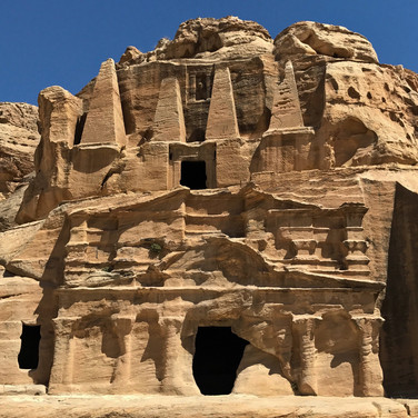 Obelisk Tomb & Bab As-Siq Triclinium, Petra