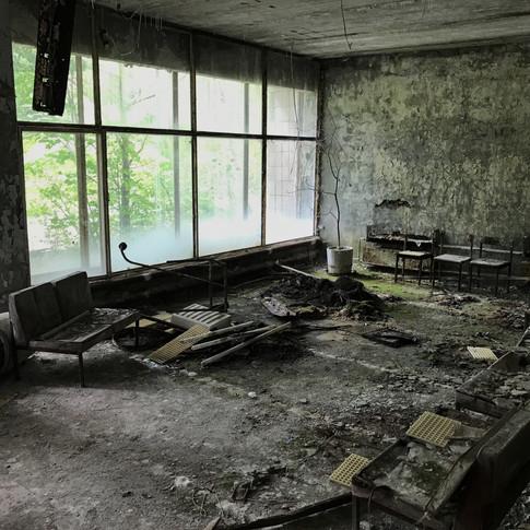 Pripyat Hospital Waiting Room