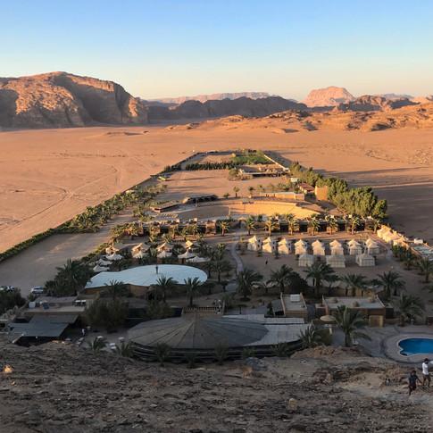 Camp, Wadi Rum