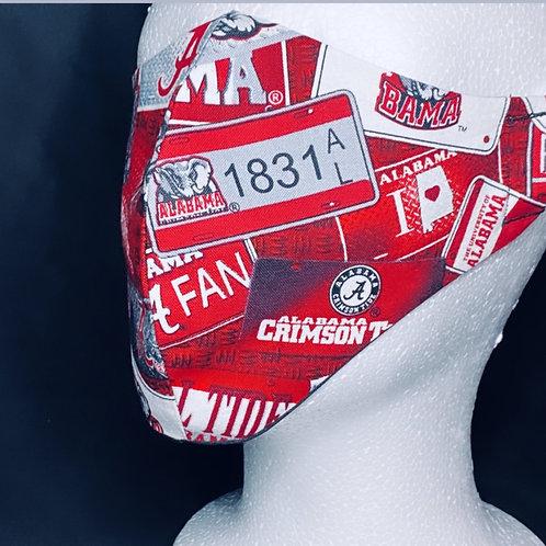 ALABAMA Tags Face Accessory