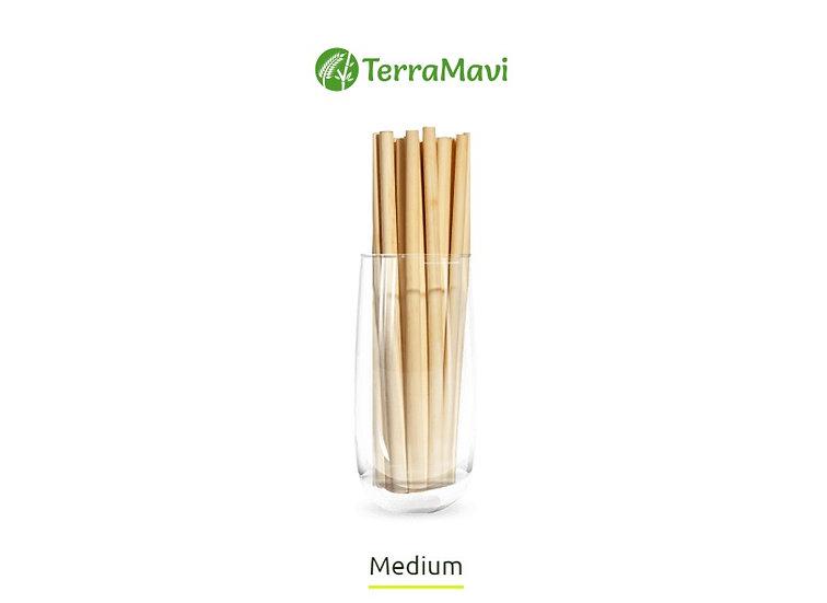 Reed Straws (Medium)
