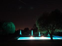 Nuit piscine