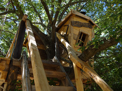 cabane escalier