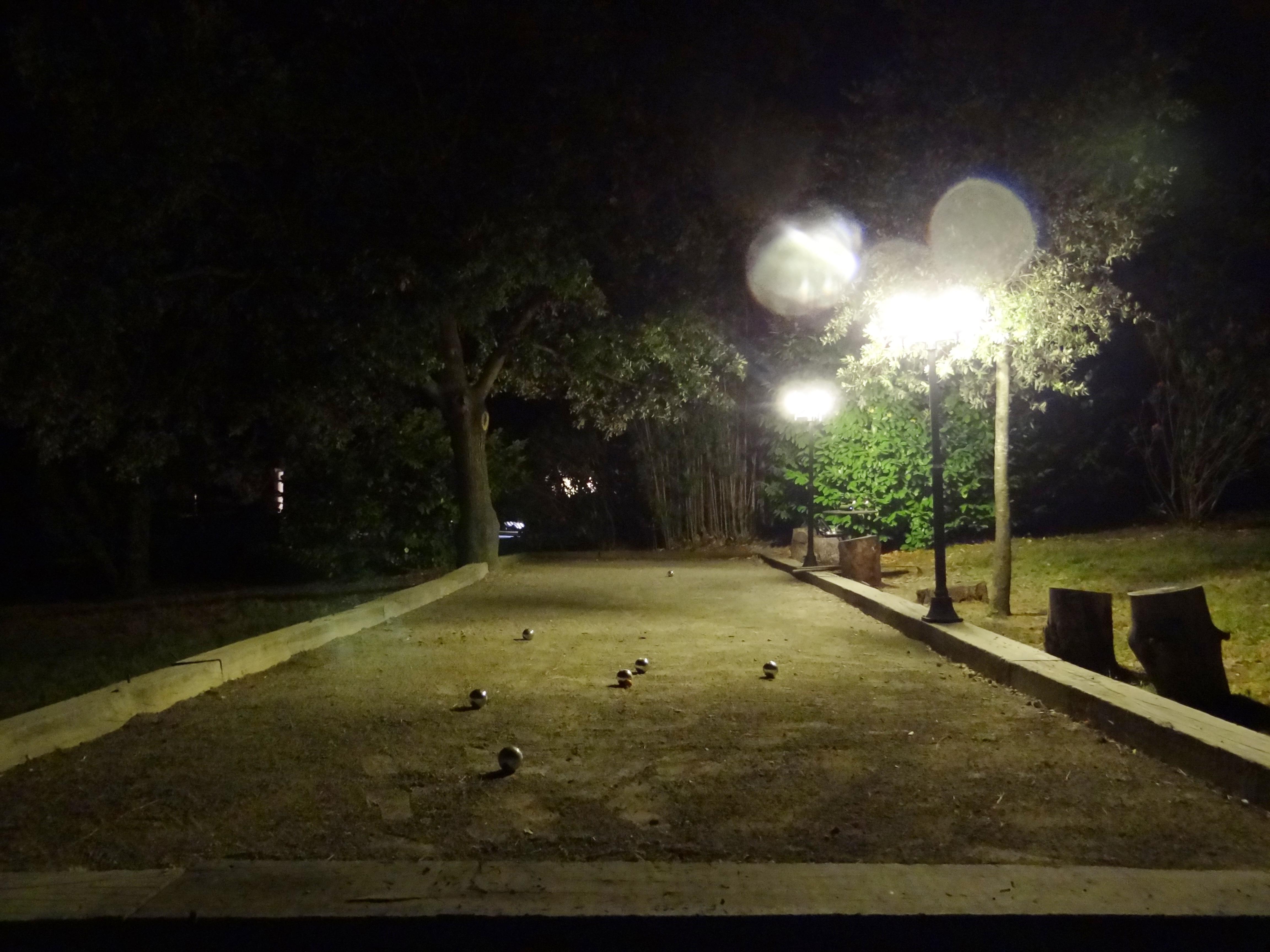 boulodrome nuit