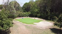 vue golf devant