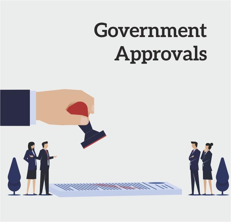 Govt. Approvals