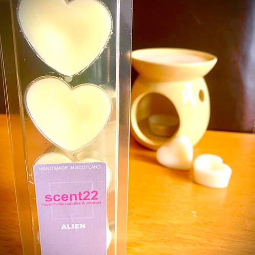 scent22 wax melt ALIEN 4pk