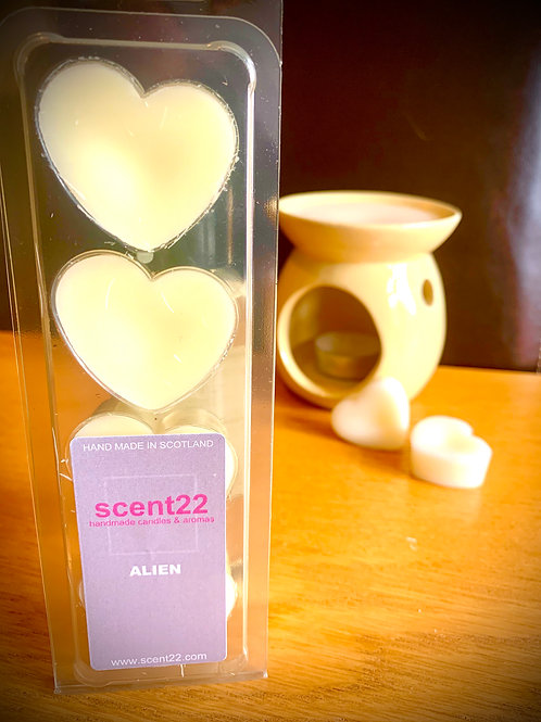 scent22 wax melt ALIEN 4pk