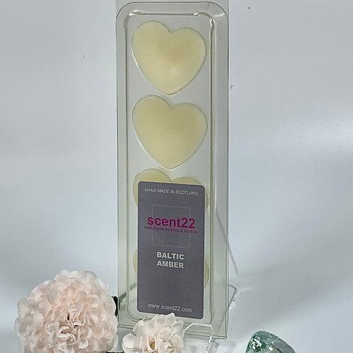 scent22 wax melt BALTIC AMBER  4pk