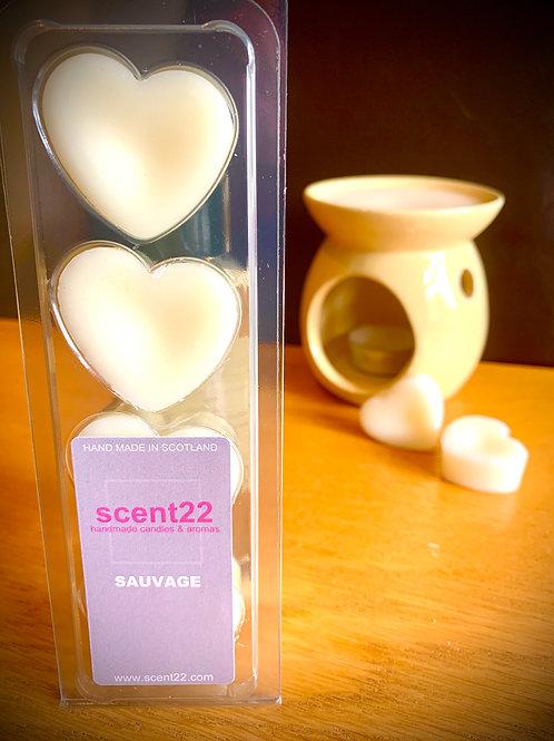 scent22 wax melt SAUVAGE 4pk