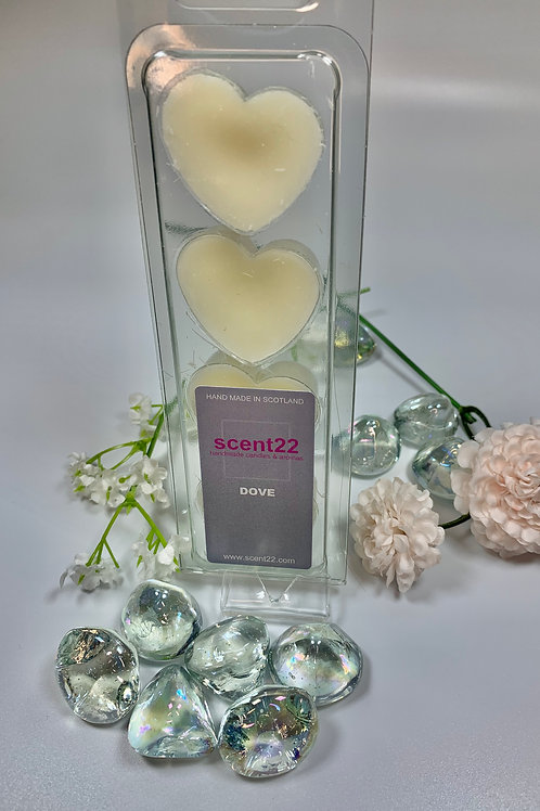 scent22 wax melt DOVE 4pk