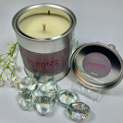 scent22 aroma candle Dove