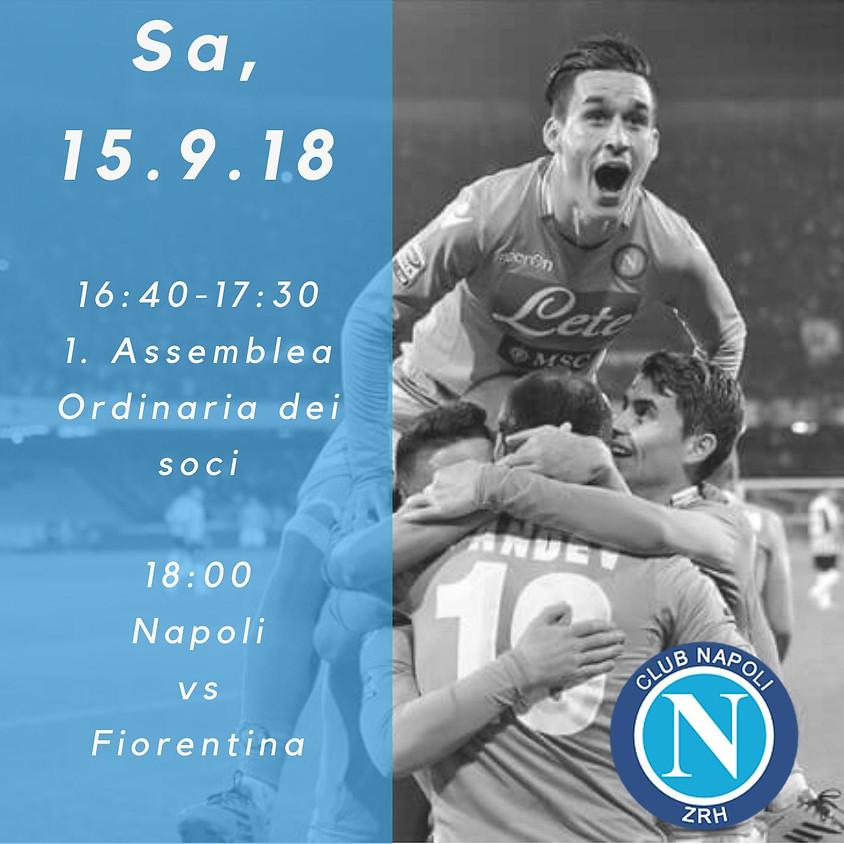 1. Assemblea ordinaria dei soci / Napoli - Fiorentina