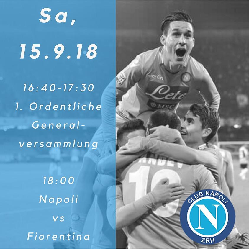 1. Generalversammlung / Napoli - Fiorentina