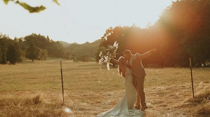 Falk Estate Vineyards Canyonville Oregon Wedding