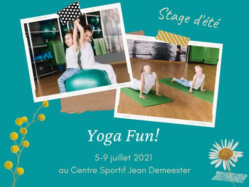 Yoga Fun! - Stage d'été